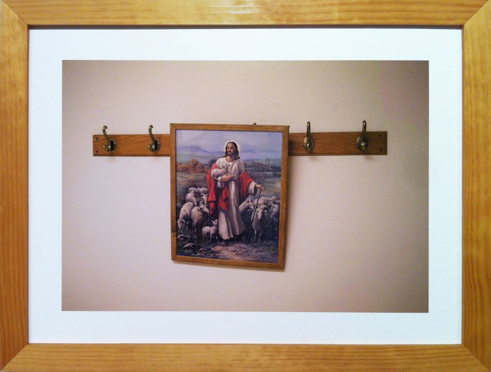 Traughber's Jesus on Coat Rack