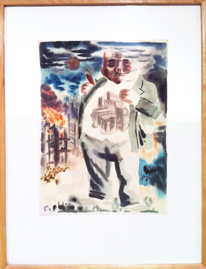 George Grosz's The Giant