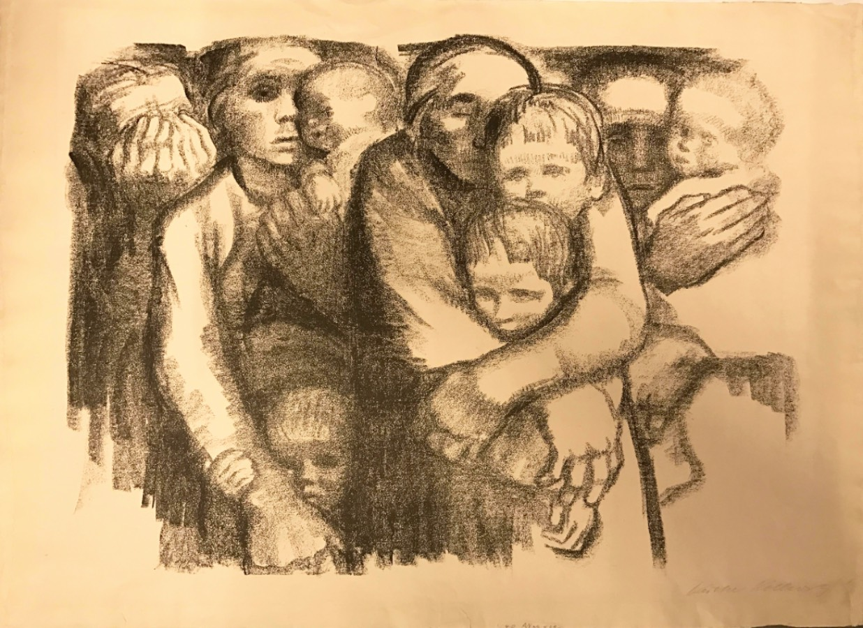 Kathe Kollwitz's widows and orphans